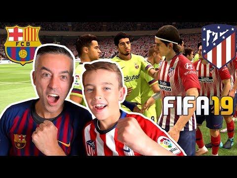 ATLETICO MADRID VS FC BARCELONA LA LIGA – FIFA 19