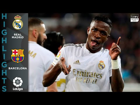 Real Madrid 2 – 0 FC Barcelona – HIGHLIGHTS & GOALS – 03/01/2020