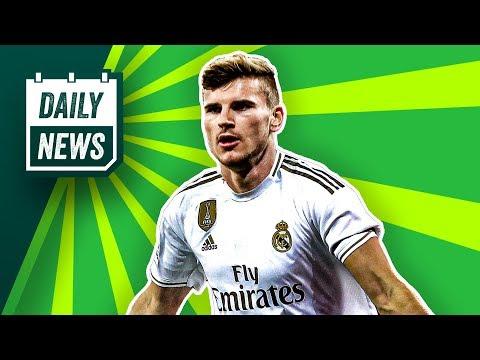 Transfer News: Werner zu Real Madrid? FC Barcelona: Valverde raus, Setién rein!