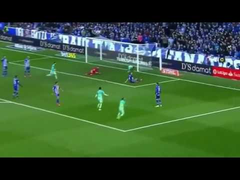Deportivo Alaves vs Barcelona 0-6. 12-02-17