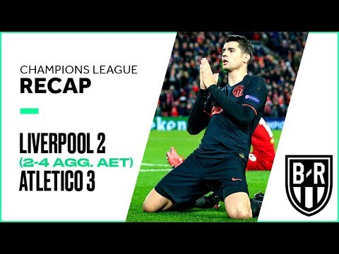 Liverpool 2-3 Atletico Madrid (2-4 agg.)—Champions League Recap with Goals, Highlights, Best Moments