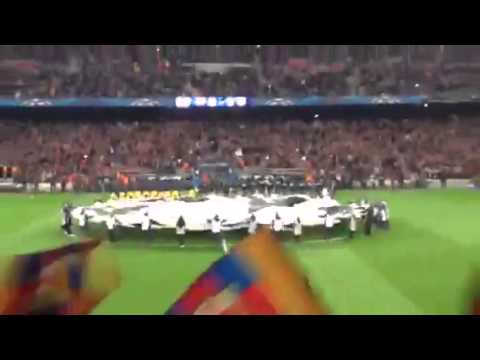 Barca Vs Atletico amazing crowd