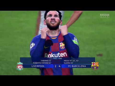 LIVERPOOL vs FC BARCELONA UCL Final FIFA 2020 Uefa Champions League