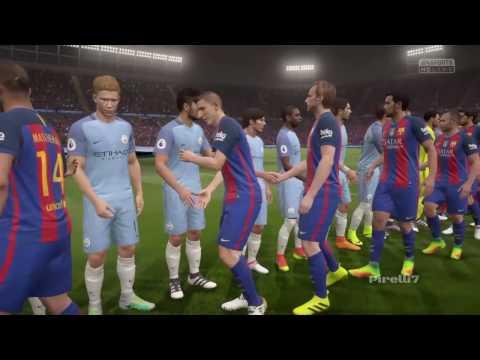 FIFA 17 Predicts: FC Barcelona vs Manchester City | 19/10/2016 – by Pirelli7