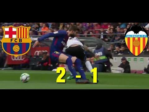 Barcelona vs Valencia Full Match Highlights,  April 13 2018—-La Liga Santander
