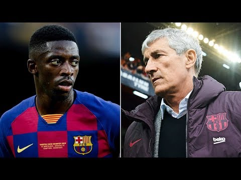 Why Ousmane Dembele's return is CRUCIAL for Quique Setien's Barcelona
