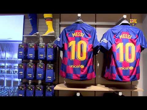 El Barça obre una botiga a La Rambla