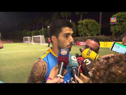 FC Barcelona Summer Tour: Luis Suárez [ESP]