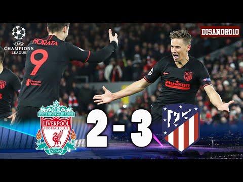 Liverpool vs Atlético Madrid [2-3] | RESUMEN | Octavos de final (VUELTA) | Champions League