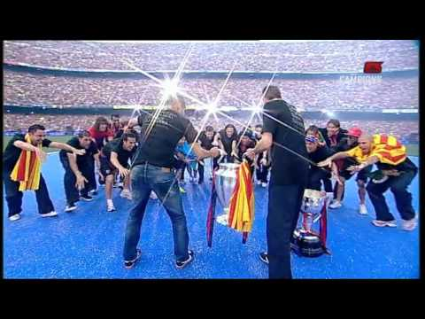 FC.Barcelona – Celebració Champions 2011 – Camp Nou 1/3