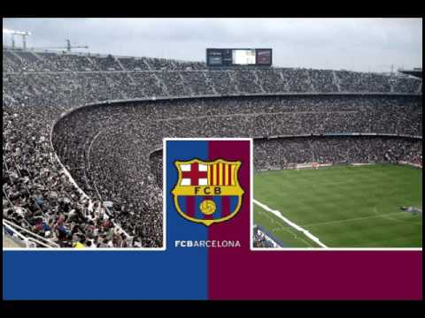 F.C.Barcelona Anthem [ Himno del Barça ]