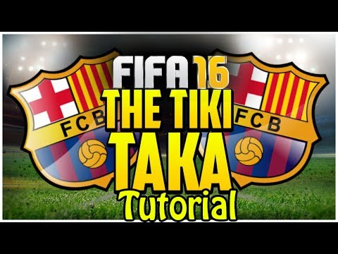 FIFA 17 (15) – TIKI TAKA BARCELONA CUSTOM TACTIC – 8 MINUTES OF POSSESSION