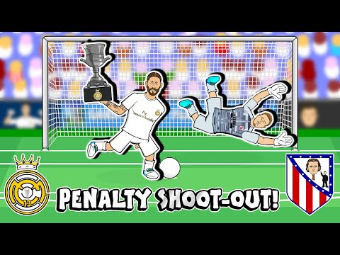 ?PENALTIES! Real Madrid win Super Copa 2020!? (Real vs Atletico Madrid Penalty Shoot-Out)