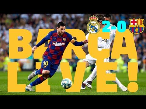 ⚽Real Madrid 2 – 0 Barça | BARÇA LIVE: Warm Up & Match Center #ElClásico