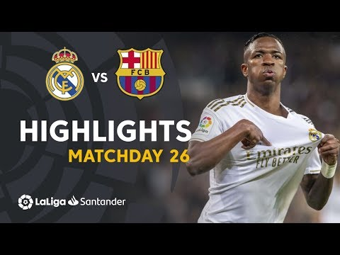 Highlights Real Madrid vs FC Barcelona (2-0)