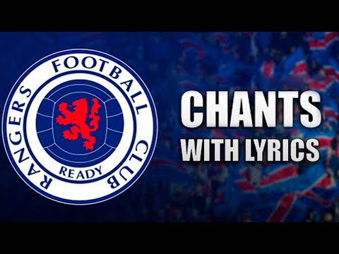 Best of Glasgow Rangers Chants WITH LYRICS
