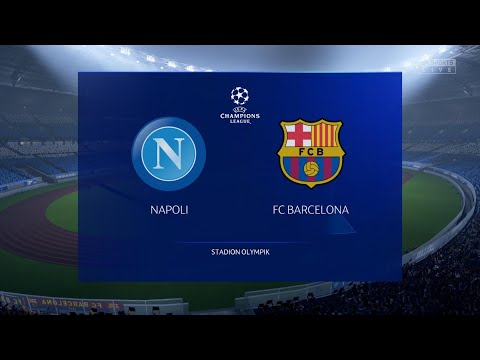 FIFA 20 Predicts: Champions League | FC Barcelona vs Napoli HD 4K