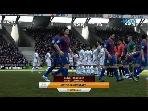 Barcelona vs. Roma | Starting Cup | FIFA 12
