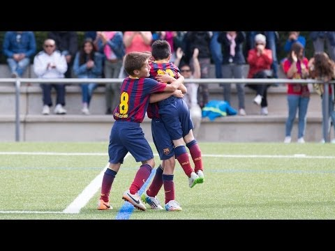 The best Masia teams' goals (24-25 May 2014)