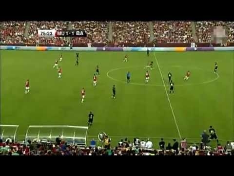 Manchester United v Barcelona 2-1 — US Tour Match 30 July 2011