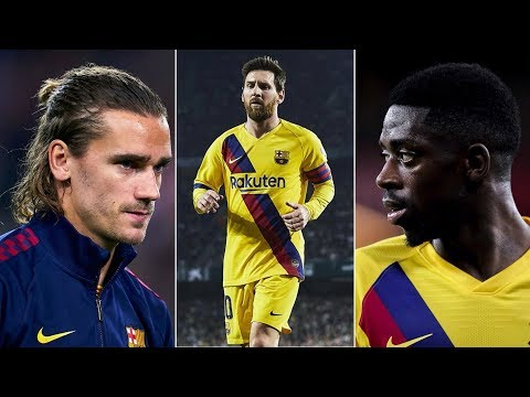 Barcelona News Round-Up ft Dembele Replacements, Messi's team-talk & Griezmann's morale