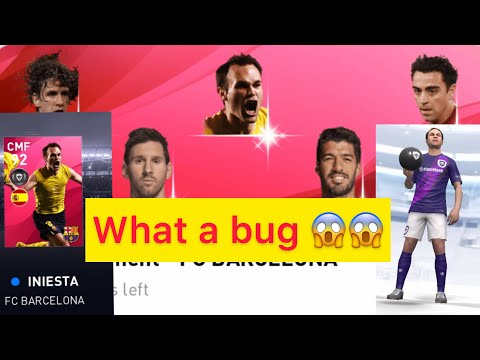 HOW TO GET INIESTA AND OTHER ICONIC LEGENDS FROM ICONIC – FC BARCELONA BOX DRAW    PES 2020 MOBILE