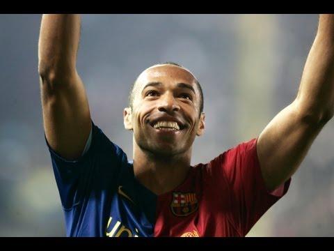 Thierry Henry – Best goals for FC Barcelona (2007-2010) / أساطير برشلونة: أهداف تييري هنري