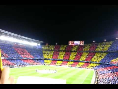 Barcelona vs. Ac Milan fan chant