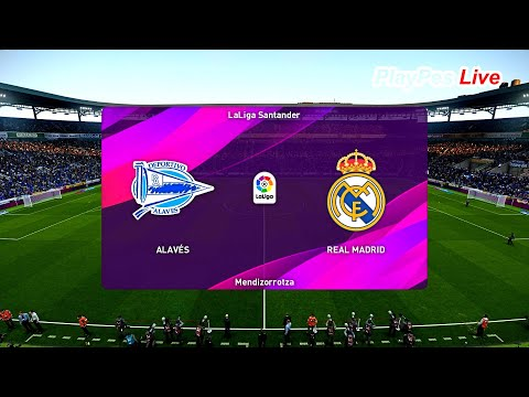 PES 2020 – Alaves vs Real Madrid – Full Match & Goals – Gameplay PC