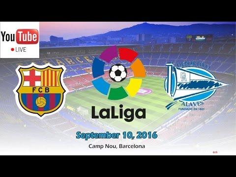 Barcelona-Alavés 10.9.2016 Live Streaming – EN DIRECTO