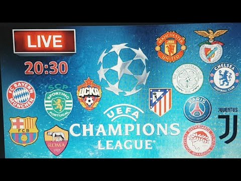 LIVE CHAMPIONS LEAGUE. BARCELONA- JUVENTUS / ROMA – ATLETICO