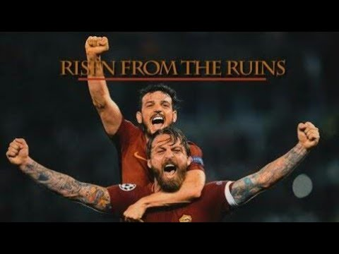 AS ROMA v FC BARCELONA Risen From The Ruins 4-4 Cinematic Movie