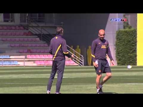 FC Barcelona- Wednesday training session