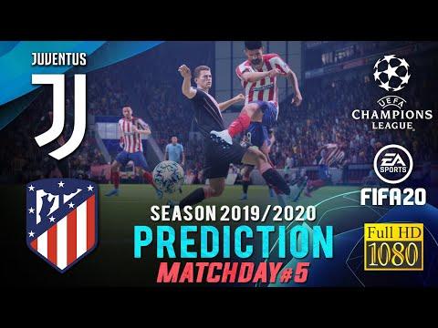 JUVENTUS vs ATLÉTICO MADRID | UCL 2019/2020 ● Matchday 5 Predict ● FIFA 20 | RetroGAMEz