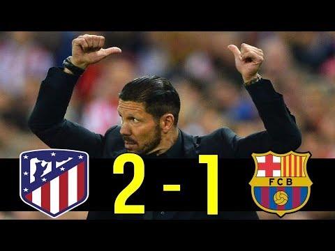 """Simeone Magic"" : 13-14 Champions League Barcelona vs Atletico Madrid"