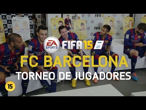 Torneo FIFA 15 – Jugadores del FC Barcelona [HD]