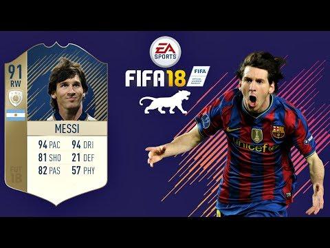 FIFA 18   Messi 2007 FUTURE ICON   VIRTUAL PRO LOOK A LIKE TUTORIAL