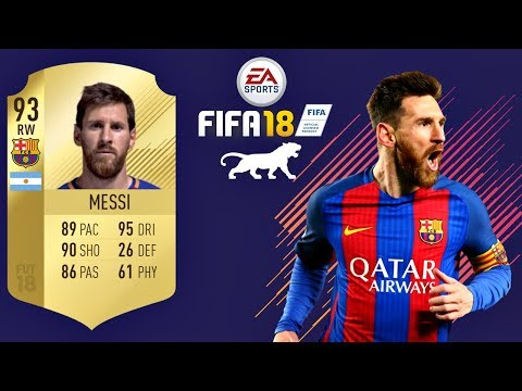 FIFA 18   Messi   VIRTUAL PRO LOOK A LIKE TUTORIAL
