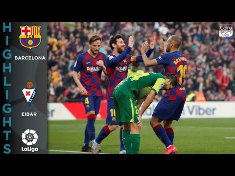 FC Barcelona 5-0 Eibar – HIGHLIGHTS & GOALS – 2/22/2020
