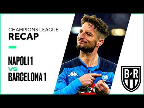 Napoli 1-1 Barcelona: Champions League Recap with Goals, Highlights and Best Moments
