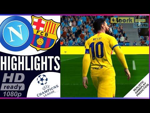 Napoli vs Barcelona  | Resumen | Highlights 25/02/2020 Champions League