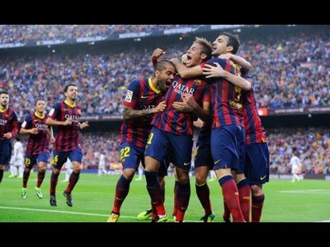 Barcelona vs A.Madrid Live score 3-1 Best Goal Messi,Neymar,Suarez