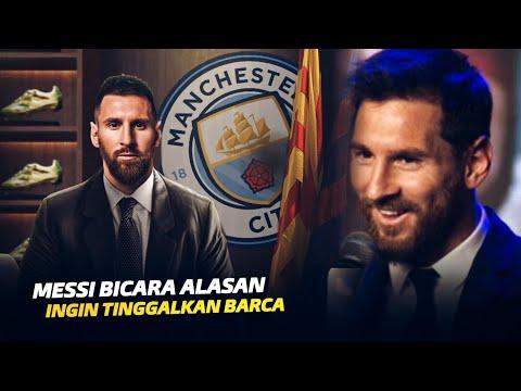 Cerita Sebenarnya Messi Ingin Meninggalkan Barcelona!!