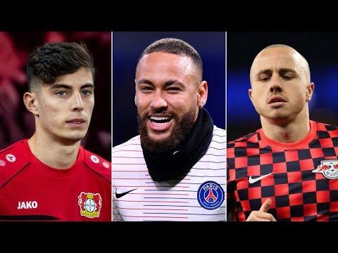 Barcelona Transfer News ft Neymar Jr, Kai Havertz & Angelino