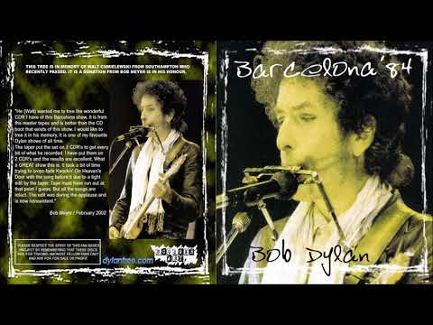 Bob Dylan 1984 Tour of Europe – Minestadio del F.C. Barcelona, Barcelona, Spain 28 June 1984