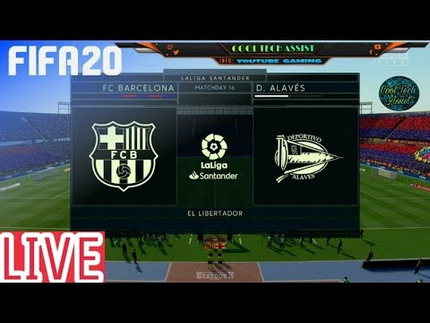 Barcelona Vs Alaves – LIVE STREAM FIFA 20  with #GAMECOMMENTARY