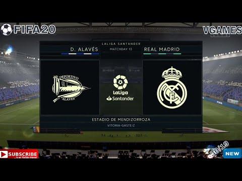 DEPORTIVO ALAVES VS REAL MADRID LALIGA ⚽|30/11/2019| FULL MATCH GAMEPLAY