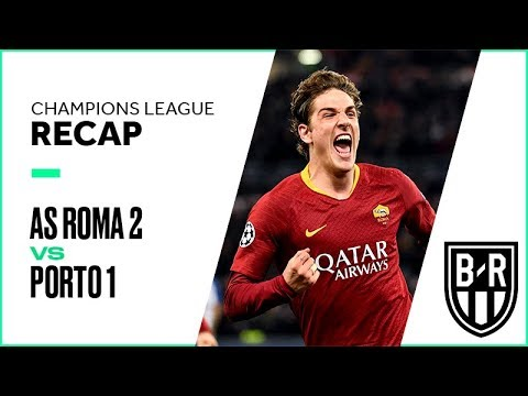 AS Roma 2-1 Porto: Champions League Recap with Highlights, Goals and Best Moments