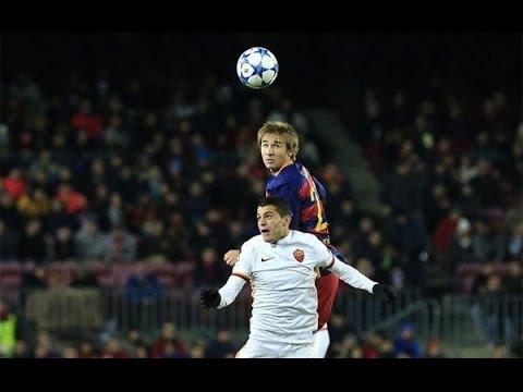 Sergi Samper vs Roma (H) • Individual Highlights • 2015/16 HD