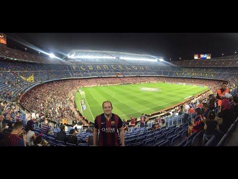 Aza's Barcelona 1 vs 1 Atletico Madrid Vlog!